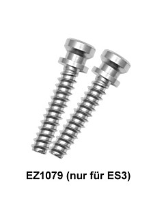 Befestigungsset EZ1079 einseitig unsichtbare Einzelbefestigung auf Holz- Rahmen oder Kunststofftür (nur für ES3/ES3G) von Karcher