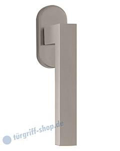 8040 Fenstergriff auf Ovalrosette in Nickel-matt von Scoop