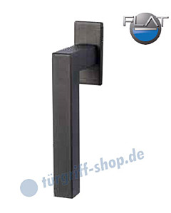 Galina Square Flat Fenstergriff -nicht abschließbar- Schwarzstahl-Optik von Südmetall