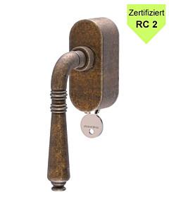 Ginevra Fensterolive abschließbar RC2 zertifiziert in 3 Farben von Reguitti