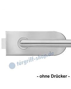 Glastürschloß EGS120 abgerundet Edelstahl matt von Karcher