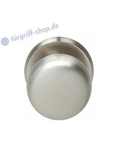 Haustürknopf feststehend, schwer, Ø 72 mm, mit durchgehender Befestigung M8, Nickel matt von Intersteel