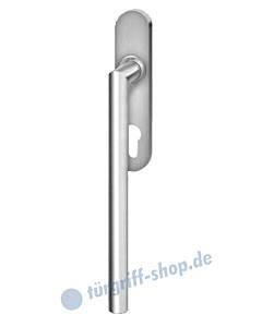 Hebe-/Schiebetürgriff EHS28 PZ für Terrassentür innen, PZ 69 mm, Vierkantstift 10/9 mm, Edelstahl matt Karcher Design