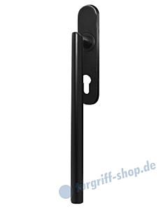 Hebe-/Schiebetürgriff EHS28 PZ für Terrassentür innen, PZ 69 mm, Vierkant 10/9 mm, Kosmos schwarz von Karcher Design