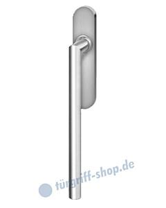 Hebe-/Schiebetürgriff EHS28 UN für Terrassentür innen, ungelocht, Vierkantstift 10/9 mm, Edelstahl matt Karcher Design