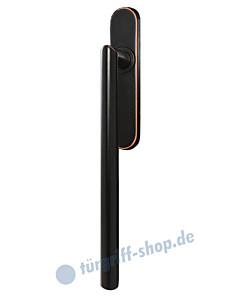 Hebe-/Schiebetürgriff EHS28 UN für Terrassentür innen, ungelocht, Vierkant 10/9 mm, Antik Bronze Optik Karcher Design