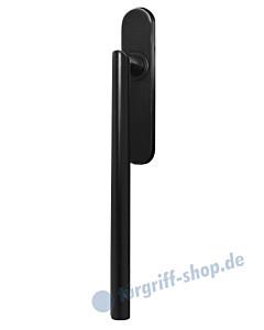 Hebe-/Schiebetürgriff EHS28 UN für Terrassentür innen, ungelocht, Vierkant 10/9 mm, Kosmos schwarz Karcher Design