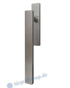 Hebe-/Schiebetürgriff EHS52Q UN für innen, ungelocht, Vierkant 10/9 mm, Edelstahl matt Karcher Design