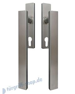 Hebe-/Schiebetürgriff-Set EHSSET52Q DD für Terrassentür, PZ 69 mm, Vierkantstift 10/9 mm, Edelstahl matt Karcher Design