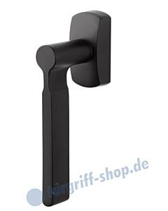 ID-9 Fenstergiff eckige Rosette Schwarz RAL 9005 von Jatec