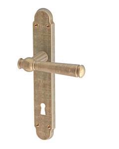 Klass Langschildgarnitur Messing rustikal matt von JTC
