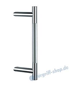 Klassik Modul 120/44 Stossgriff Länge 390 mm   schräge Stütze   Edelstahl matt Schneider + Fichtel
