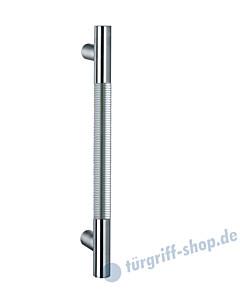 Klassik Modul 120/6 Stossgriff Länge 390 mm | gerade Stütze | Stange Ø 26 mm | Edelstahl matt Schneider + Fichtel