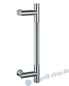 Klassik Modul 120/8 Stossgriff Länge 390 mm   Winkelgriffstütze   Edelstahl matt Schneider + Fichtel