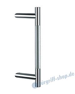 Klassik Modul 121/44 Stossgriff Länge 390 mm   schräge Stütze   Edelstahl matt/Alu EV1 Schneider + Fichtel
