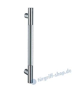 Klassik Modul 121/6 Stossgriff Länge 390 mm | gerade Stütze | Stange Ø 26 mm | Edelstahl matt / Alu EV1 Schneider + Fichtel