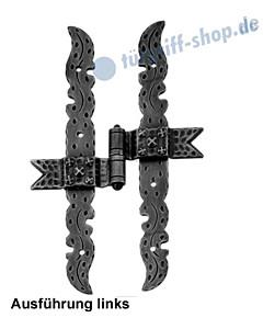 Kreuzband H-Form Art. 1011/B | 300 mm | Antik von Galbusera