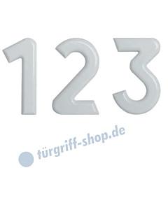 Hausnummer Kunststoff weiß | Höhe 160 mm von Lienbacher