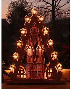 3D Lichterspitze Kölner Dom von Saico