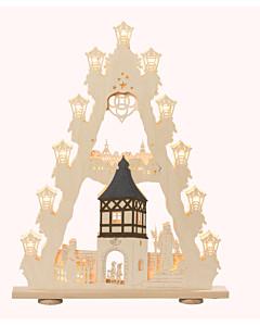 3-D Lichterspitze Burgromantik von Saico