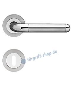 Lignano Steel ER 35 Rosettengarnitur Edelstahl pol./matt Karcher