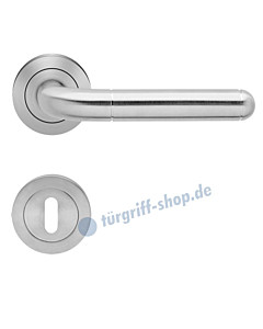 Lignano Steel ER 35 Rosettengarnitur Edelstahl-matt von Karcher