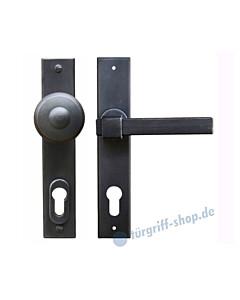 Linz LS Haustürgarnitur mit Sicherheitsrosette Hardox® Galbusera