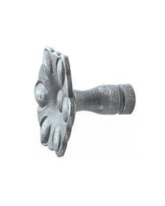 Möbelknopf 0211.013 rustikal in 2 Größen antik grau thermopatiniert von Halcö