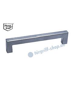 Möbelgriff in eckiger Stangenform, DM 12 x 12 mm, in diversen Längen, Edelstahl matt von Südmetall