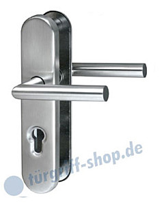 Schutzgarnitur Phönix CL-Form Drücker/Drücker Edelstahl matt Lienbacher