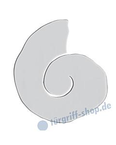 Planar Mare II Stossgriff 4220/6   Schnecken-Form   Aluminium eloxiert von Schneider + Fichtel