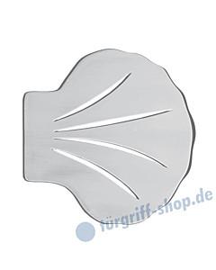 Planar Mare Stossgriff 4230/6   Muschel-Form   Aluminium eloxiert von Schneider + Fichtel
