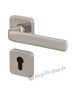 Pure Quattro R388 Feuerschutz-Rosettengarnitur Edelstahl Jatec
