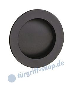 R60 Schiebetürmuschel rund in schwarz von Reguitti