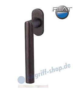 Ronny II Flat Fenstergriff -nicht abschließbar- Schwarzstahl-Optik von Südmetall
