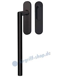 Ronny Hebe-/ Schiebetürbeschlag Edelstahl schwarz matt Südmetall