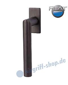 Ronny II Square Flat Fenstergriff -nicht abschließbar- Schwarzstahl-Optik von Südmetall