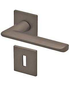 8010Q Rosettengarnitur quadratisch Titanium Dunkelgrau von Scoop