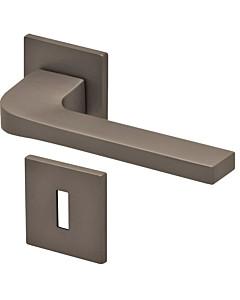 8044Q Rosettengarnitur quadratisch Titanium Dunkelgrau von Scoop