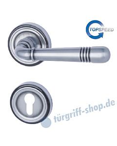 Scarlet-R Halbgarnitur Top Speed, Profilzylinder, Stahlgrau-matt Südmetall