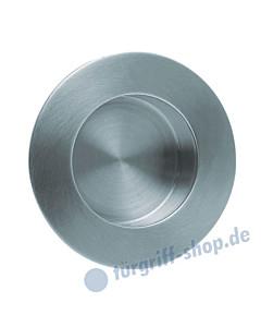 Schiebetürmuschel rund Durchmesser ø 84 mm Edelstahl matt von Scoop