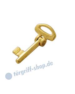 Schlüssel BONAITI abwinkelbar für Schiebetürschloss Buntbart in 4 Farben von Reguitti