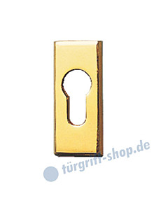 Schmalrahmen-Schutzrosette Classic PZ-Lochung in 6 Farben von Spitzer