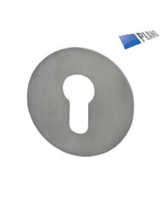 Schutzrosette Plano Durchmesser 55 mm Edelstahl matt Südmetall