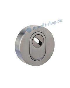 Schutzrosette außen 373-855-200 rund, PZ mit Kernziehschutz in 2 Farben Jatec