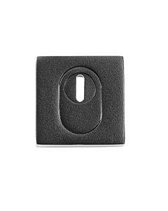 Schutzrosette 98421A/1 PZ mit Kernziehschutz in Schwarz matt von Spitzer