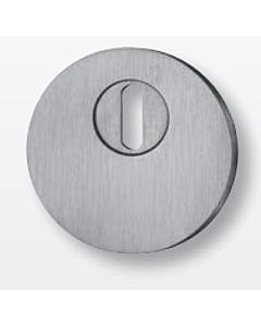 Schutzrosette flach rund 65421E4 mit KZS, Stärke 4 mm, Edelstahl matt von Spitzer