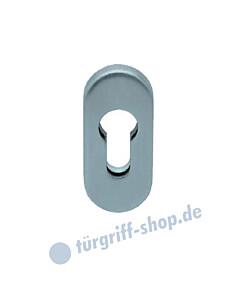 Ovale Sicherheitsrosette aus Edelstahl matt oder poliert von Scoop