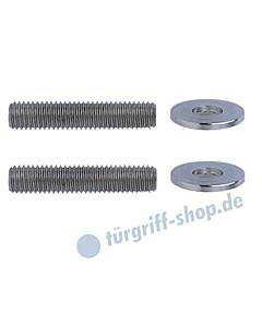 Stossgriff-Befestigungs-Set 10 für Rahmentüren mit Einnietmuttern Schneider + Fichtel