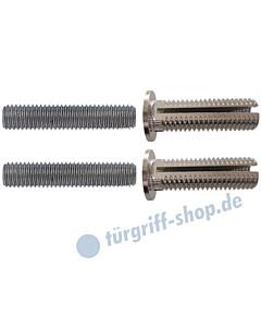 Stossgriff-Befestigungs-Set 12 für Rahmentüren aus Holz- und Kunststoff  und Hohlkammerprofile Schneider + Fichtel